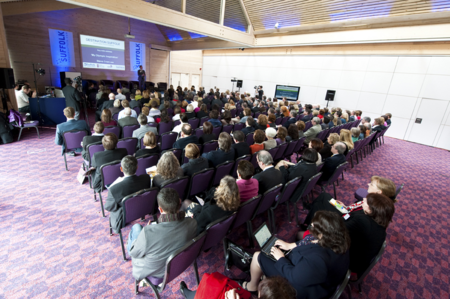 Presentation at our Large Conference Center in Suffolk