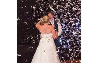 First Dance in a Flurry of Confetti