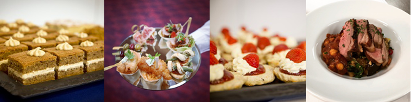 Suffolk Wedding Venue - Canapes, Sweet Treats and Wedding Breakfast Meals