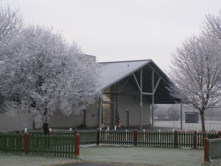 Trinity Park Events Centre in Winter